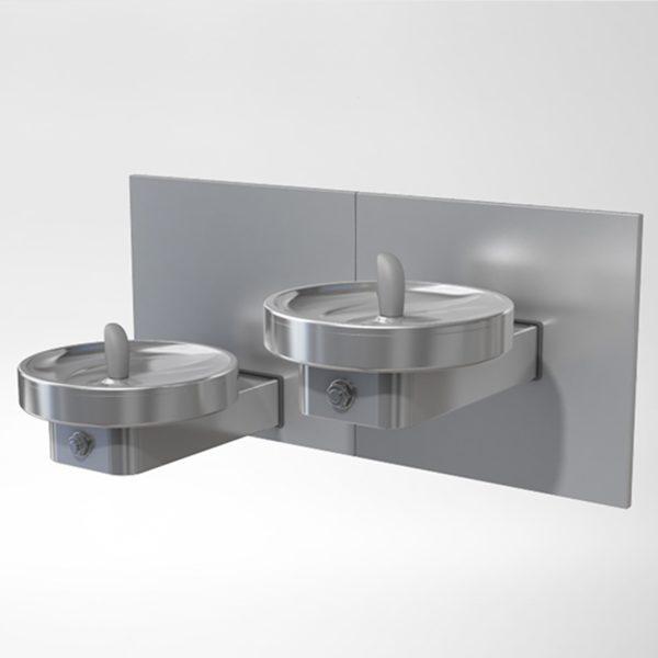 Modular Drinking Fountain MSSLPM- Vandal Resistant